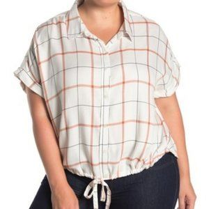 SANCTUARY Borrego Tie Bottom Shirt